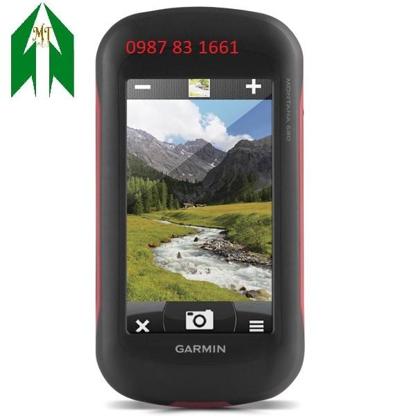 Máy định vị cầm tay GPS MONTANO 680