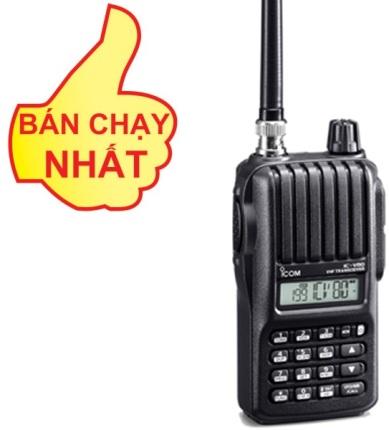 Bộ đàm cầm tay iCOM IC - V80 - VHF